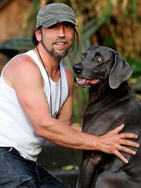 Mein Hund Aristo und Ich