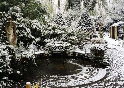 Garten im Feb 2017