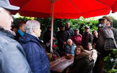 Ein Besuch in der Falknerei